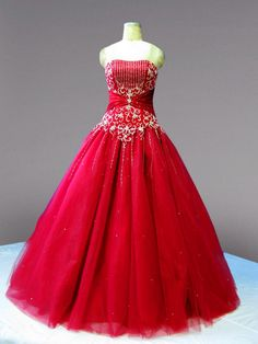 Quinceanera Galleria - Beaded Bodice Satin Quinceanera Dress, $365.00 (http://www.quinceaneragalleria.com/beaded-bodice-taffeta-quinceanera-dress/)