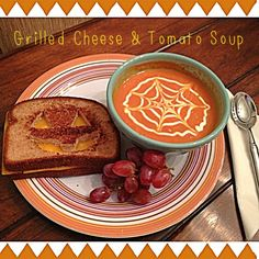 One of the best culinary combinations is good 'ole grilled cheese and tomato soup. Take this simple comfort food to the next level by adding a little crafty hocus pocus and watch your little ghouls gobble it up! - A great halloween-inspired recipe for you and your family! Blog by: Marisa Zeibert