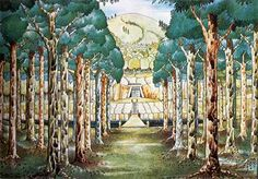 File:J.R.R. Tolkien - The Elvenking's Gate (II) (Colored by H. E. Riddett).jpg