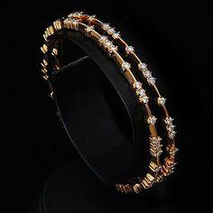 i love this Studded Diamond large bangle
