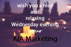 See you tomorrow !  AiA Marketing #Glasgow