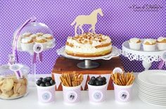Horse Party - Sweet table