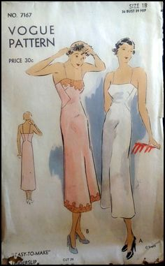 Vogue  7167  Vintage Vogue Pattern from the by ThePatternShopp