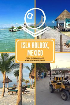 Isla Holbox, Mexico | Paradise Found! If you like beaches, wildlife including flamingos and whale sharks, sand streets, golf buggy transport and more like this, then Isla Holbox is for you! It's somewhat off the beaten track too so its not overrun with tourists! Travel to Isla Holbox, a personal paradise! Read the whole