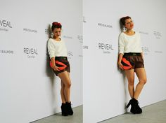 calvin klein outfit reveal oarty new york fashion week