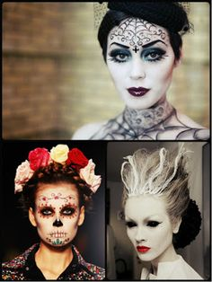 Scary & Creative Halloween Hairstyles | 2016 Best Newest HairStyles