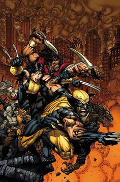 astonishingx:  X-Force by David Finch