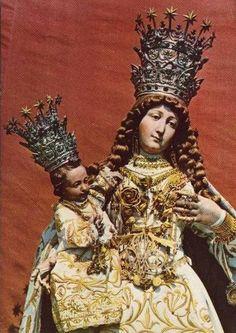 Maria SS. delle Grazie  The statue of the Madonna of Grace in Castelvetere sul Calore, Italy.