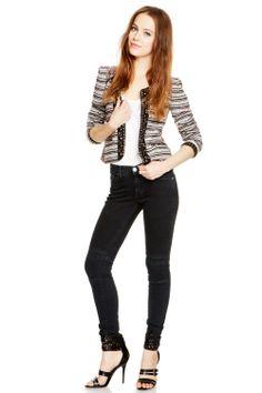 Rebecca Minkoff Ludlow Moto Midrise Skinny Jean