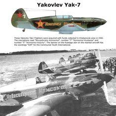 WW2 - Allied Aircraft: Yakovlev Yak-7.