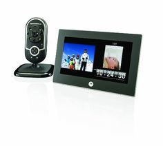 Motorola 7 inch Digital Frame with Video In Picture and Wireless DECT Camera (Black) Cheap Picture Frames, Stages Of Baby Development, Perfect Camera, Frames For Sale, Digital Photo Frame, Wireless Camera, Frame Display, Photo Accessories, Video Camera