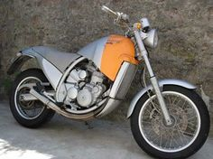 Philippe Starck designed Aprillia Moto 6.5 Love this bike!  Total weirdo.