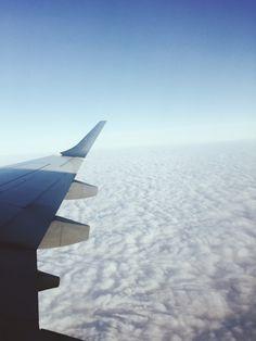 Flying to Milan - Alpes view