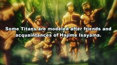 Shingeki no Kyojin. Attack on Titan. Hajime Isayama. Manga. Anime facts