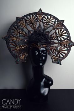 Cathedral headdress by Candy makeup artist  Want to buy handmade styling/ headdresses, or hire me? Click on the link!