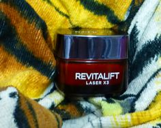 I was fortunate enough to be sent L'Oreal Revitalift Laser x 3 Day Cream to trial for beauty website Beauty Heaven . Loreal Revitalift, Cream, Day, Products, Creme Caramel, Sour Cream, Gadget, Lotion