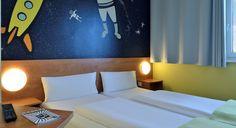Zweibettzimmer im B&B Hotel Oberhausen am Centro