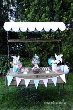 Sweetcandycar boda vintage