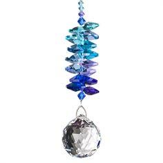 Crystal Grand Cascade Suncatcher - Moonlight