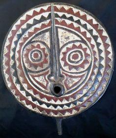Authentic Bobo/Bwa Sonnenmaske, Sun Mask, Burkina Faso