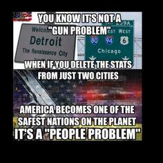 It's not a gun problem