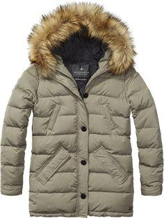 Long Length Jacket | Jackets | Women's Clothing at Scotch & Soda