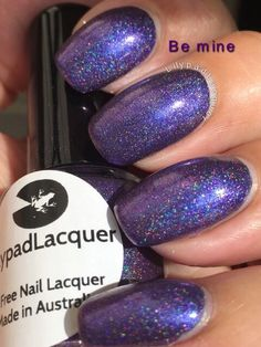 LilypadLacquer Be Mine. Released in March 2015.