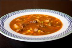 Vegetable Beef Soup- Crockpot