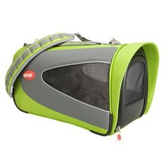 "Teafco Argo Petascope Pet Carrier Size: Small (9.25"" H x 10"" W x 18"" L), Color: Green"
