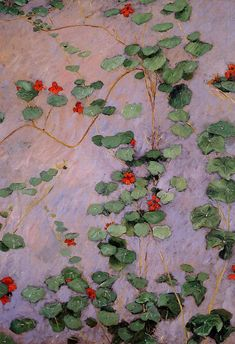 Gustave Caillebotte(French, 1848–1894)  Nasturtiums   1892  oil on canvas