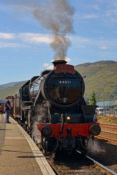 Fort William - The Royal Highlander train