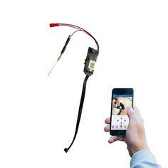 Mini Wireless HD 1080P SPY Hidden Camera Wifi Module DVR Video IP P2P Recorder Tamper-proof row line Cam Module