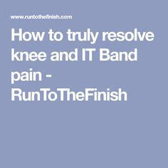 c14afebb6b2b How to Truly Resolve Runners Knee by Fixing Knee Drift