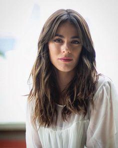 Bangs With Medium Hair, Medium Hair Styles, Short Hair Styles, Wavy Bangs, Medium Long Hair, Long Bangs, Wavy Hair, Haircuts For Long Hair, Long Hair Cuts