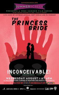 Tonight SummerScreen presents The Princess Bride at McCarren Park - movie starts at sundown