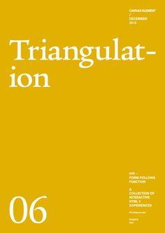 Form Follows Function - Triangulation