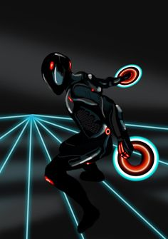 Rinzler/ Tron: Legacy [artwork by LordApep on deviantart]