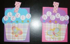 Invitation I made for Ms. Alexis' 1st birthday party...