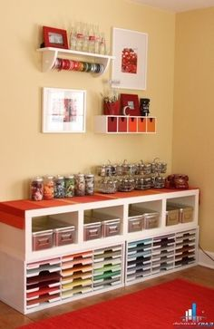 Crafter's Organized Perfection www.Designcoholic.com