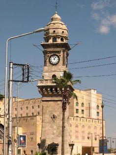 Aleppos Clock Tower, Aleppo, Syria Islamic City, Arab World, Aleppo, Islamic Architecture, Tower, Culture, Palestine, Facades, Jerusalem