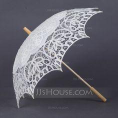 [Kr 197] Delikat Bomull Paraplyer (124041497)