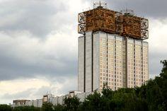 L'architecture soviétique postrévolutionnaire est caractérisée par sa recherche constante de formes : les caractéristiques du rationalisme e...