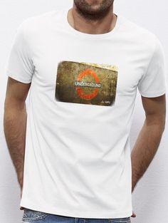 White Underground Madrid, Mens Tops, T Shirt, Fashion, Tee, Moda, La Mode, Fasion, Fashion Models
