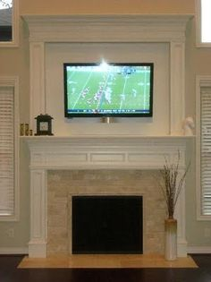beautiful fireplace surround and mantle detail!!   interior design ...