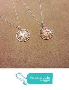 "New Art To Wear ""CrossWalk"" Glass Pendant Statement Choker 925 Sterling Silver Necklace For Women's| Teen Girls| + Free Jewelry Bag https://www.amazon.com/dp/B01M6190OI/ref=hnd_sw_r_pi_dp_CIs-xb7GVCV97 #handmadeatamazon"