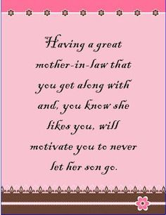 Blessed To Have A Wonderful Mother In Law Who Is Also One Amazing