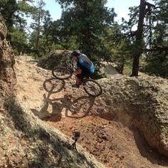 Bishops Rock free ride playground outside of Del Norte, Colorado!