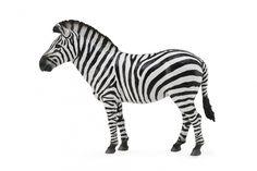Wilde dieren Steppezebra  De steppezebra of gewone zebra is de meest algemene zebrasoort. Hij leeft op de open graslanden, savannes, steppen en bossavannes van zuidelijk en oostelijk Afrika, zowel op vlakten als in heuvelachtige streken en in bergen.   Specificaties Geslacht: junior Kleur: zwart/wit Materiaal: kunststof Afmetingen: 12,4 x 9,3 cm Leeftijd: vanaf 3 jaar - Wilde Dieren Steppezebra 12 Cm Material Girls, Internet, Animals, Toys, Activity Toys, Animaux, Animal, Animales, Toy