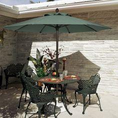 Aluminum Patio Umbrellas - FiberBuilt Premium Wind-Resistant Aluminum Market Umbrella - - Plain and Simple Deals - no frills, just deals Patio Umbrella Covers, Patio Umbrellas, Aluminum Patio, Thing 1, Market Umbrella, Pacific Blue, Sunbrella Fabric