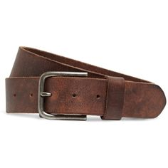 Brooks Brothers Leather Belt ($78) ❤ liked on Polyvore featuring mens, men's accessories, men's belts, men, belts and brown